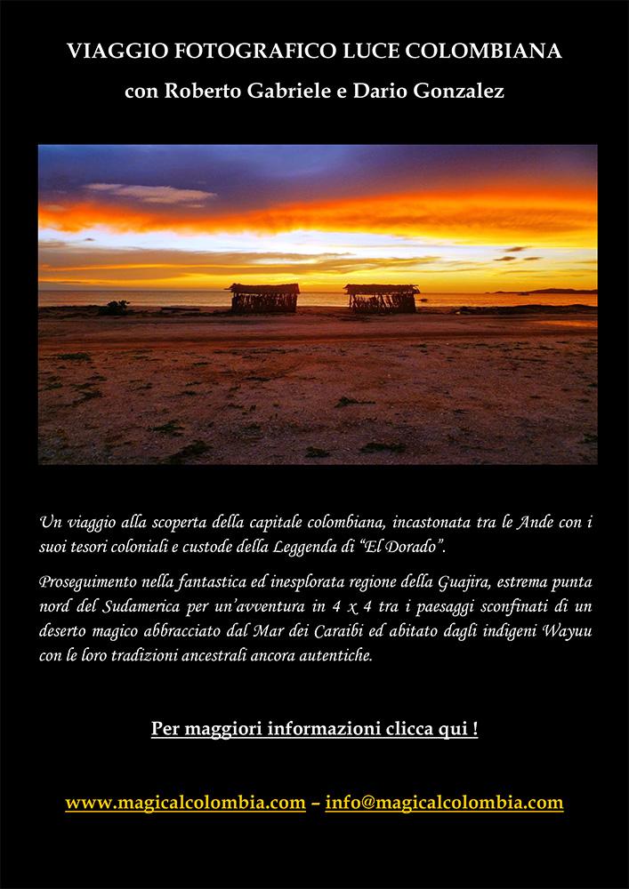 VIAGGIO FOTOGRAFICO LUCE COLOMBIANA