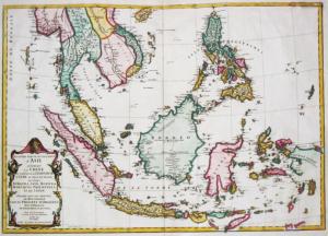 Indonesia Sulawesi Old Map