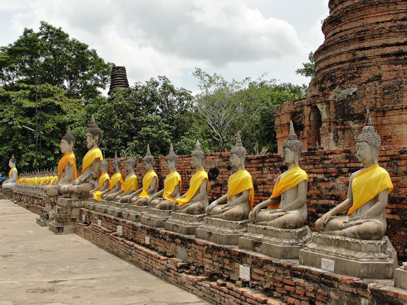 Thailandia Songkran tempio
