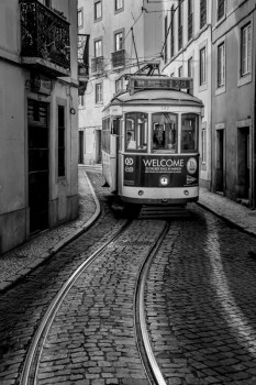 Tram a Lisbona - Foto: Roberto Gabriele