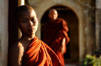 Giovane monaco - Foto: © Roberto Gabriele 2005