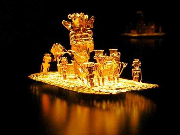 La Balsa - Museo del Oro