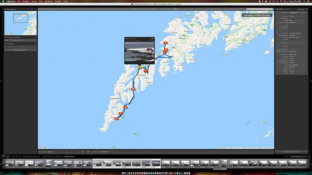 Il modulo Mappe si integra con i percorsi GPS