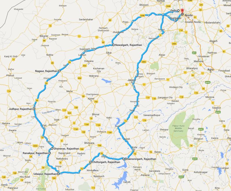 Mappa Holi 2016