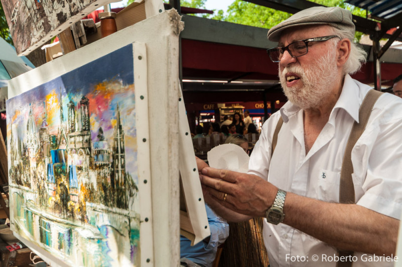 Pittore a Montmartre