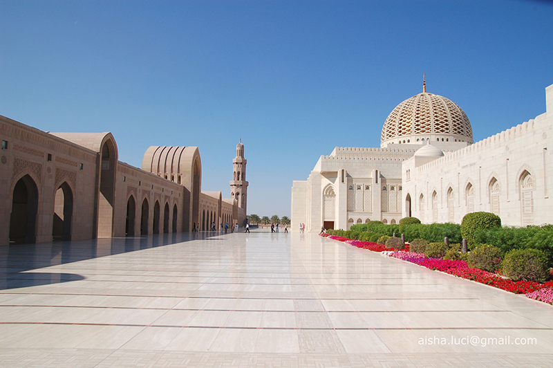 Oman La Grande Moschea 2