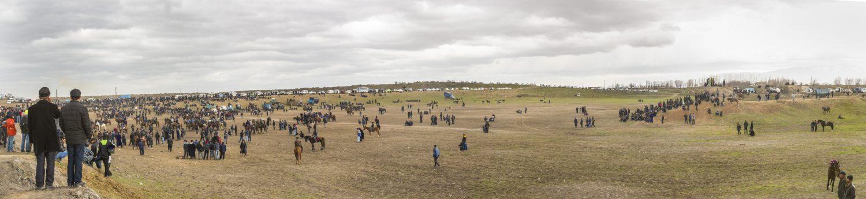 Il campo di gioco del Buzkashi, di Carmen Garcia Llorens