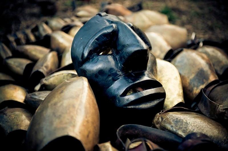 Sardegna carnevale Moamoiada maschera