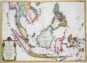 Indonesia Sulawesi Old Map