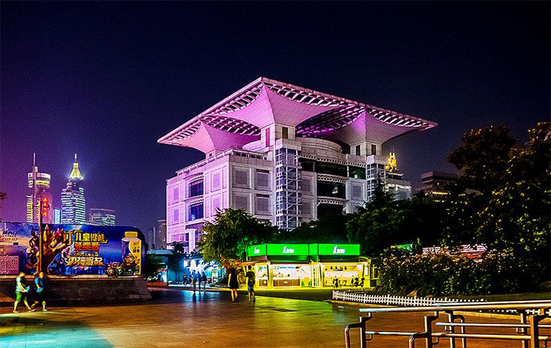 Gran Teatro Plaza del pueblo y museo - Foto: © Enrique Domingo